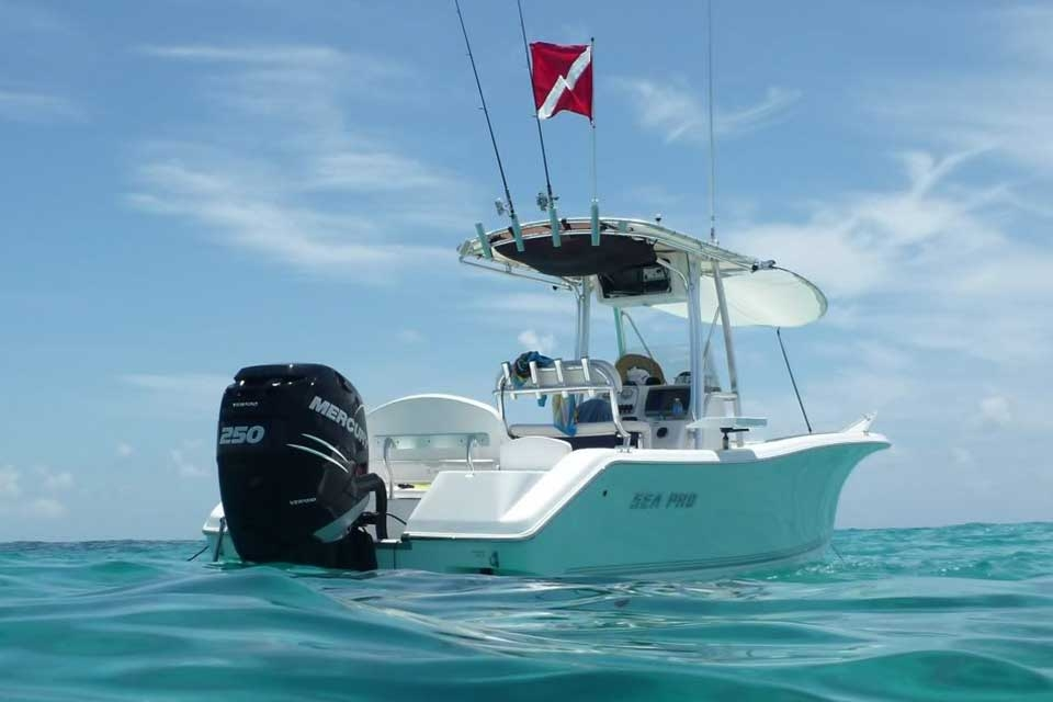 Parga Boat Rental - Sea Pro 228CC - Fishing Boat